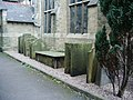 St Andrew's Church, Methodist and United Reformed, Skipton, Gravestones - geograph.org.uk - 983104.jpg