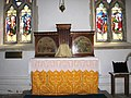 St Andrew's church - altar in south transept - geograph.org.uk - 933418.jpg