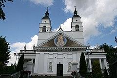 Fasada kościoła św. Antoniego w Sokółce