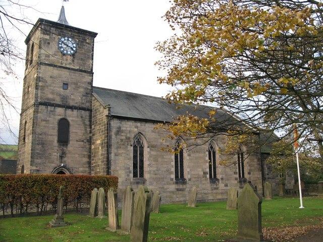 St Chuthbert's church, Haydon Bridge, Northumberland - geograph.org.uk - 601736