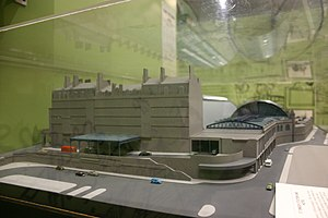 St Enoch railway station - Model of station at the Glasgow Museum of Transport