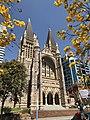 St John's Cathedral, Brisbane facade in spring 2017.jpg