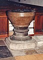 St Martin and St Mary, Chudleigh, Devon - Font - geograph.org.uk - 1729829.jpg