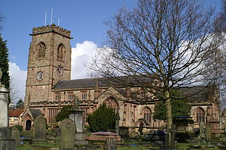 Bowdon, Greater Manchester - Image: St Mary's Church, Bowdon