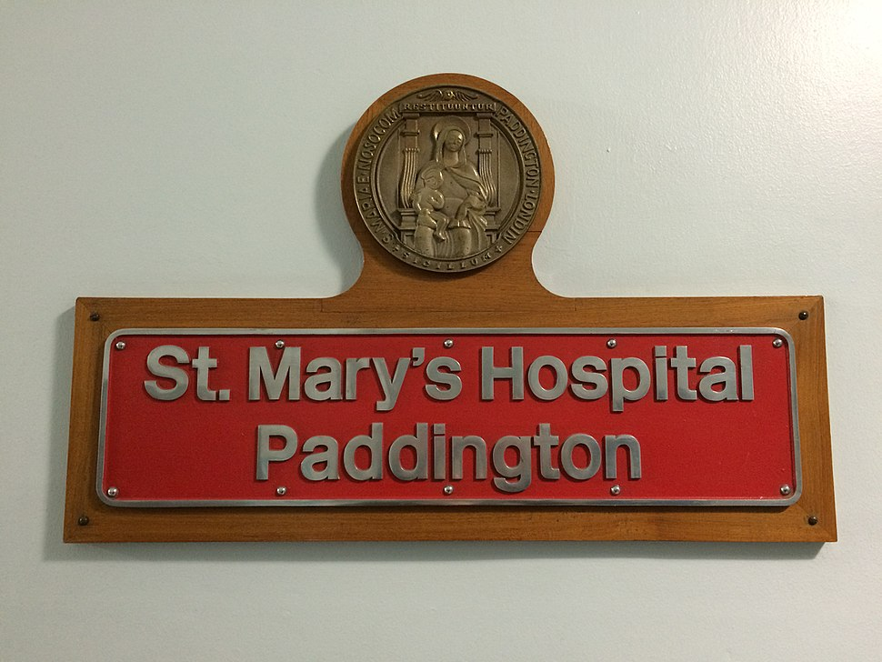 St Mary Paddington Nameplate