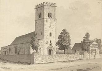 Edward Hutchinson (mercer) - Parish church of St Mary le Wigford in Lincoln where Hutchinson was likely baptised