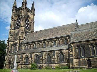 Mirfield - Image: St Marys Mirfield 1