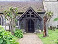 St Peter's Church, Ickburgh, Norfolk - Porch - geograph.org.uk - 822833.jpg