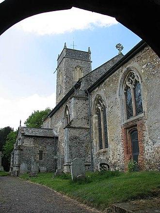 Bramerton - The church of St Peter in Bramerton