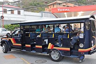 Saint Thomas, U.S. Virgin Islands - Cab at Red Hook