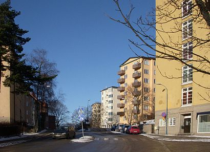 How to get to Stadshagen with public transit - About the place