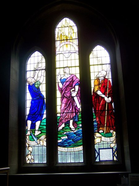 File:Stained Glass Window, Brechin Cathedral - geograph.org.uk - 828307.jpg