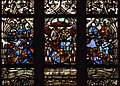 Stained glass in Saint Maurice churche, Olomouc.jpg