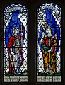 Stained glass window, St Peter's church, Firle, Sussex (16952319026).jpg