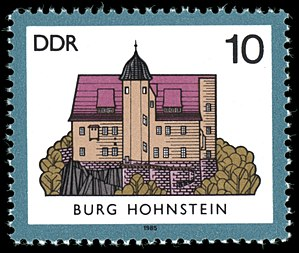 Hohnstein - Image: Stamps of Germany (DDR) 1985, Mi Nr 2976