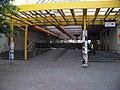 Stanice metra Invalidovna uzavřená během povodně.jpg