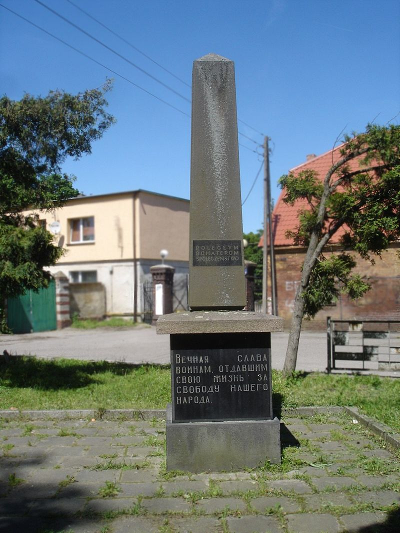 Pomnik Bohaterów Armii Radzieckiej w Stargardzie Szczecińskim