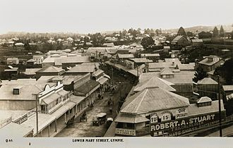 Gympie - Lower Mary Street, c.1925