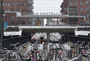 Houten Castellum railway station - Image: Station Houten Castellum 2013