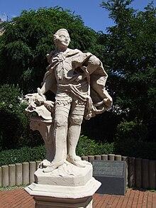 Clemens-August-Denkmal in Brühl (Quelle: Wikimedia)