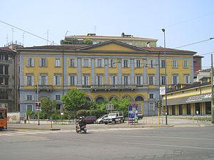 Milan–Monza railway - The original Porta Nuova Station in Milan