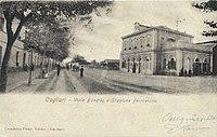 Stazione di Cagliari viale Bonaria - cartolina.jpg