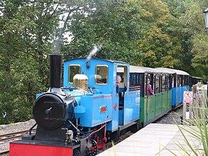 Heatherslaw Light Railway - Image: Steam Engine Bunty Heatherslaw Light Railway September 2014