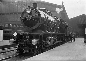 Nord Railway 2-8-0 No.4.193, from series 4.061...