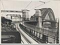 Steam trains on Harbour Bridge, 1932 (8283772342).jpg