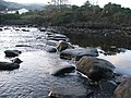 Stepping stones over the Carra. - geograph.org.uk - 105446.jpg