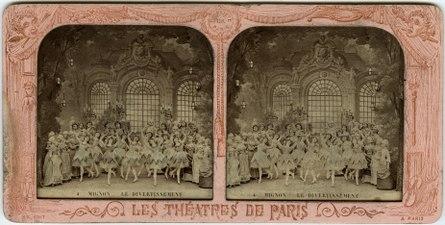 Stereokort, Mignon 4, Le divertissement - SMV - S82a.tif