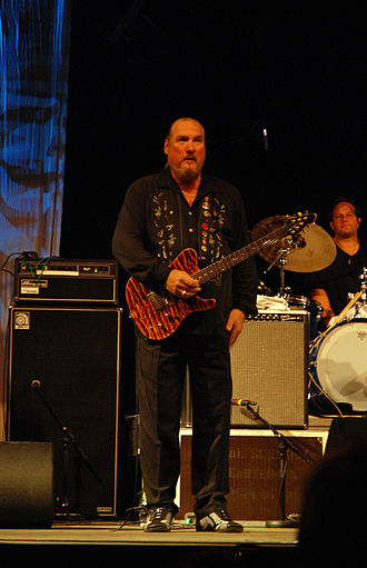 Steve Cropper - Steve Cropper at the Hamar Music Festival, 2007