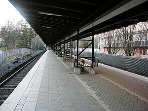 Gubbängen metro station - Image: Stockholm subway Gubbangen