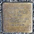 Stolperstein Altonaer Str 26 (Hansa) Louis Hirsch.jpg
