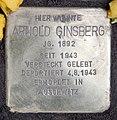 Stolperstein Bleibtreustr 17 (Charl) Arnold Ginsberg.jpg
