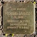 Stolperstein Duisburger Str 2 (Wilmd) Richard Jaretzki.jpg