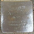 Stolperstein Höxter Stummrigestraße 49 Margarete Frankenberg.jpg