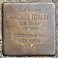 Stolperstein HB-Sebaldsbrücker Heerstr 55 Rachel Traum.jpg
