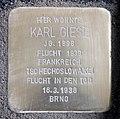 Stolperstein John-Foster-Dulles-Allee 10 (Tierg) Karl Giese.jpg