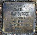 Stolperstein Köpenicker Str 28 (Kreuz) Marie Hamburger.jpg