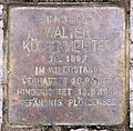 Stolperstein Sächsische Str 63a (Wilmd) Walter Küchenmeister.jpg