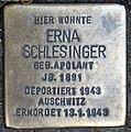 Stolperstein Weichselstr 52 (Neuk) Erna Schlesinger.jpg