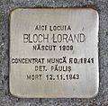 Stolperstein für Bloch Lorand.JPG