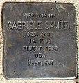 Stolperstein für Gabriele Samuel.jpg