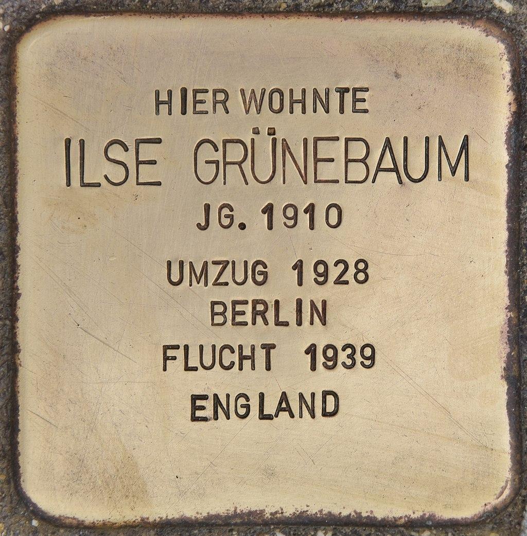 Stolperstein für Ilse Grünebaum (Passau).jpg