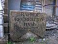 Stone, Raphoe Recreation Hall - geograph.org.uk - 998465.jpg