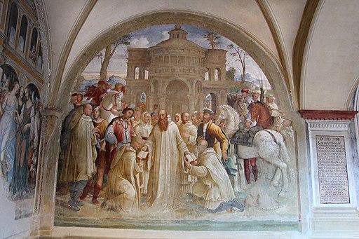 Bartolomeo Neroni, Come Benedetto invia Mauro in Francia e Placido in Sicilia
