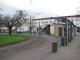 Haardtwaldplatz in Frankfurt am Main