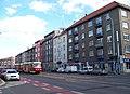Strašnice, V olšinách 28 - 48, tramvaj.jpg
