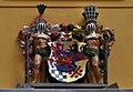 Stralsund, Badenstraße 39, Landständehaus, Wappen über dem Portal (2012-06-03), by Klugschnacker in Wikipedia.jpg